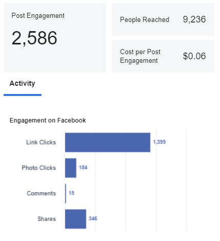 Remote Job Network Facebook Ad Results