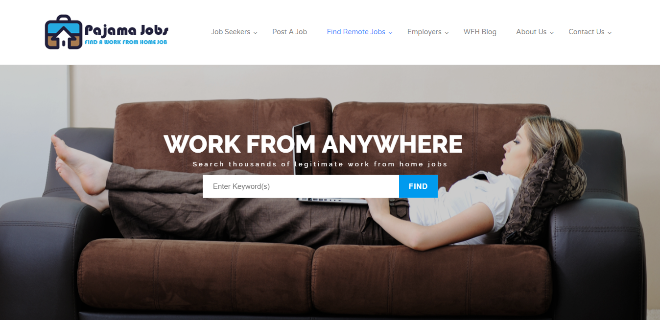 Find a Work From Home Job
