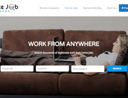 WordPress – Work From Home Job Board
